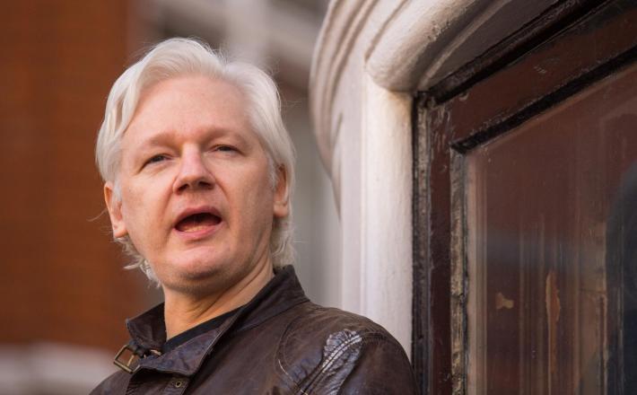 Julijan Assange Vir:Pixell