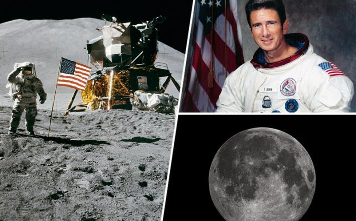 Astronavt, luna