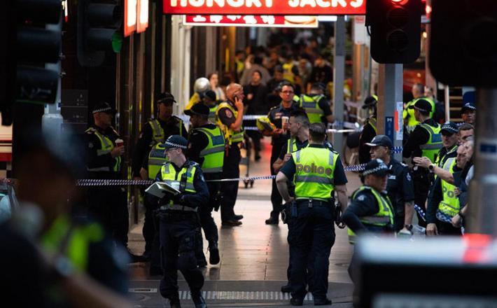 Australia napad