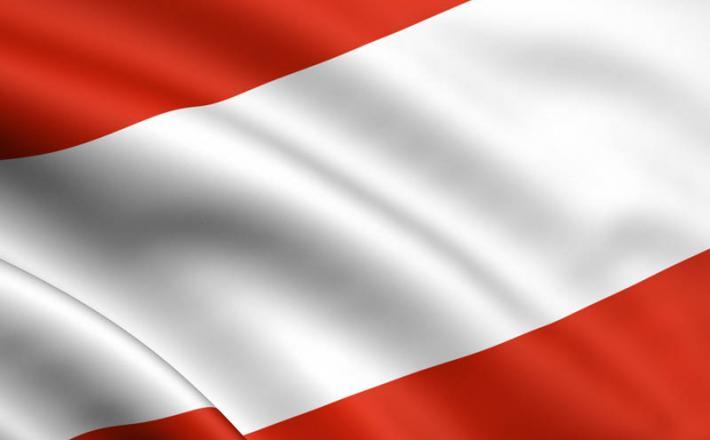 Avstrija zastava