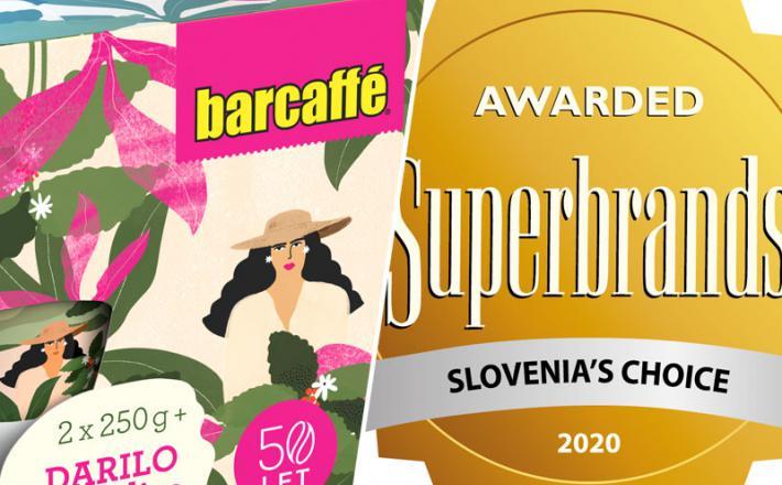 Barcaffe - v prestižni ekipi Superbrands