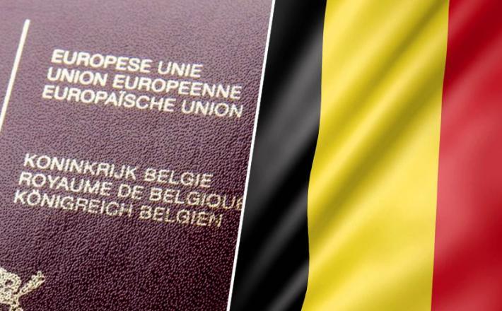 Belgija potni list