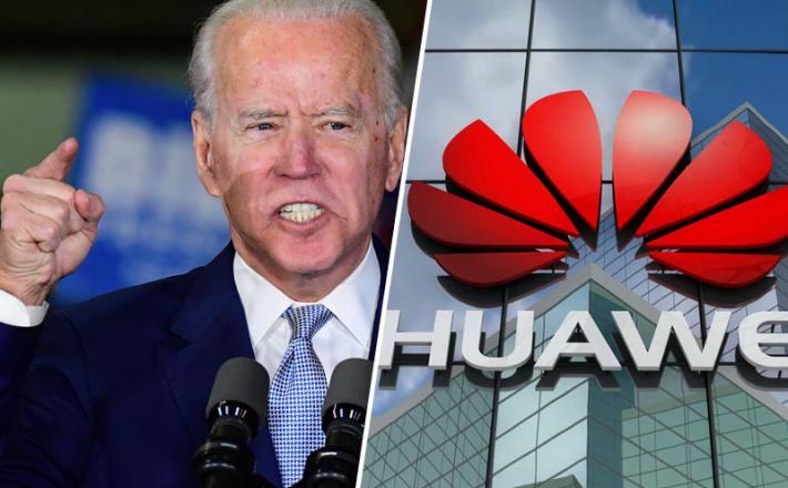 Joe Biden nadaljuje s Trumpovo politiko, ko gre za Huawei