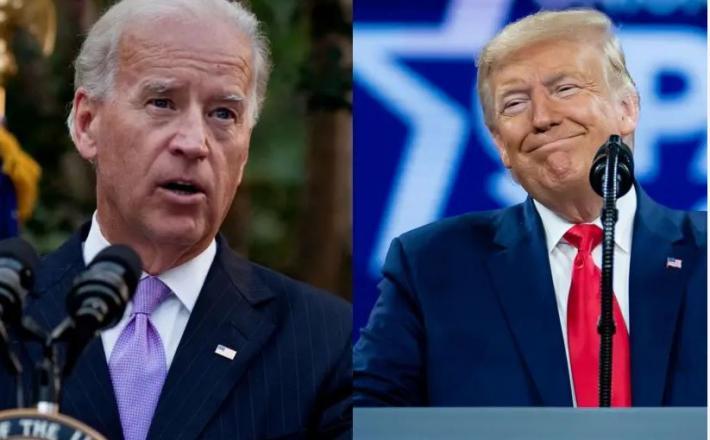 Biden in Trump