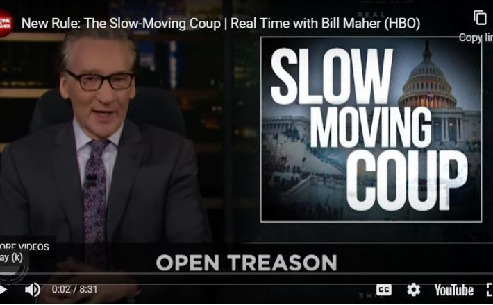 Bill Maher - puč se premika počasi, a zagotovo