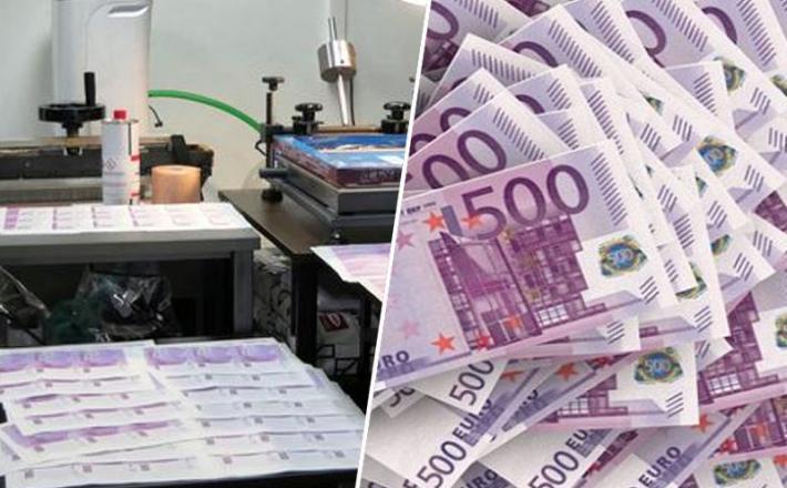 Bolgarija ponarejevalci denarja