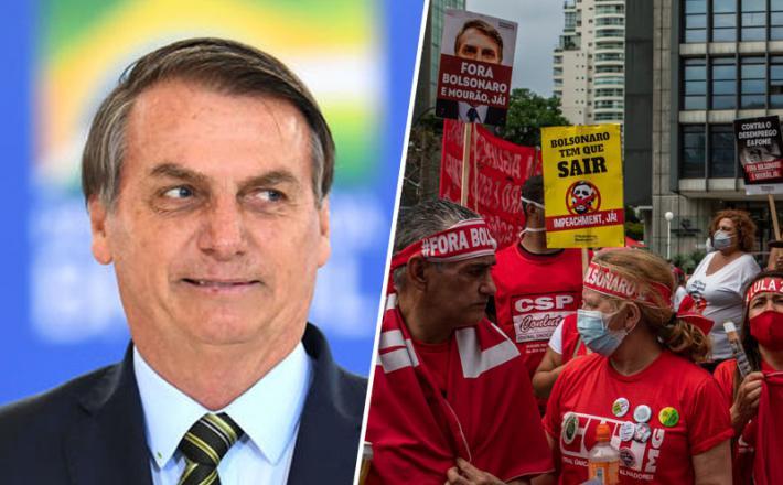 Bolsonaro je obtožen genocida