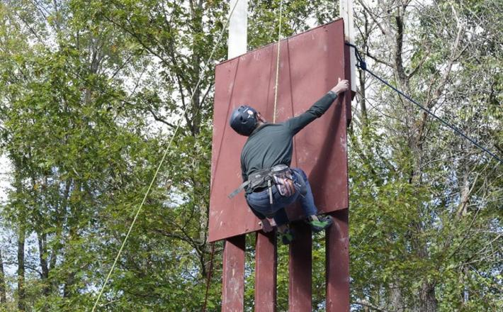 Plezalec - Trumpov zid