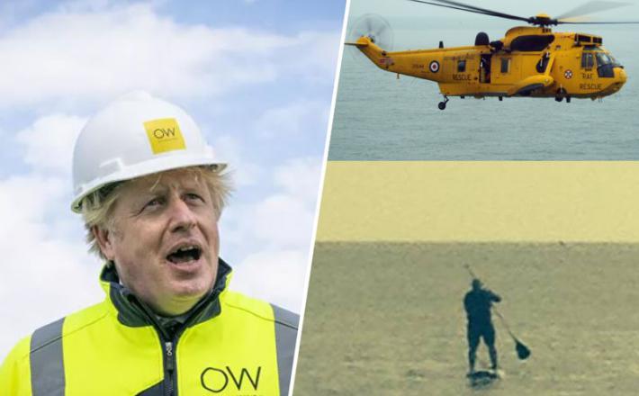 Boris Johnson na supu
