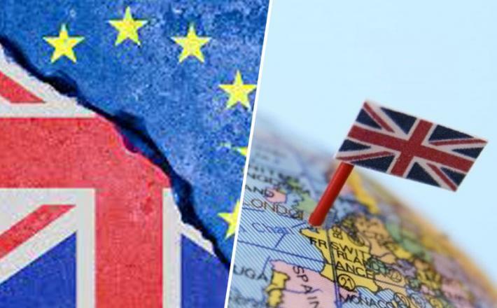 Brexit - britanska zastava