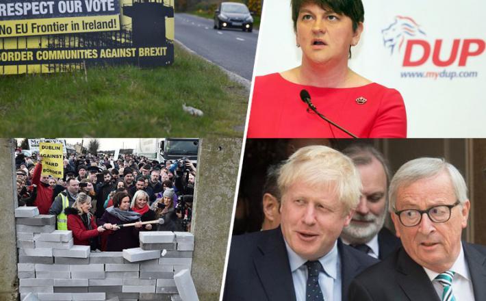 Brexit in trda meja na Severnem Irskem