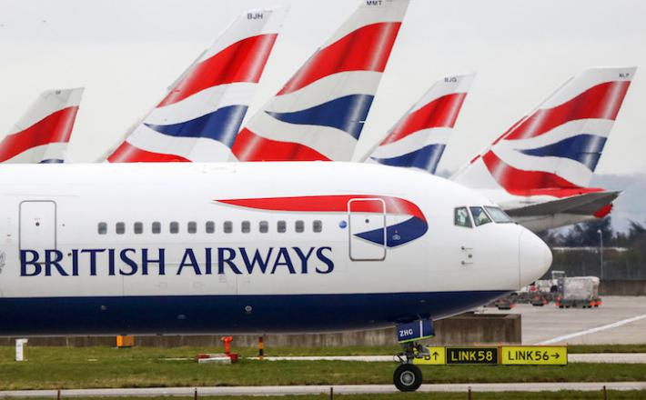 British Airways     Vir:Bloomberg