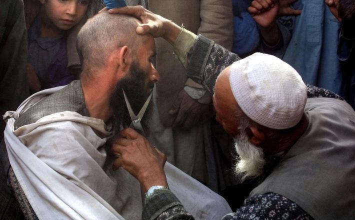 Brivec v Afganistanu  Vir: Twitter