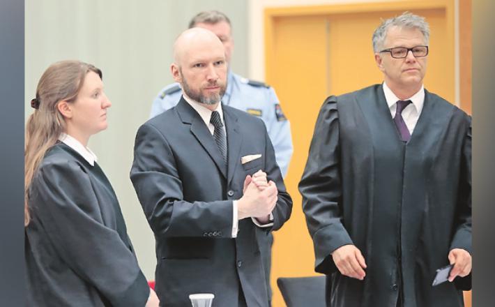 Anders Breivik  Vir: Twitter