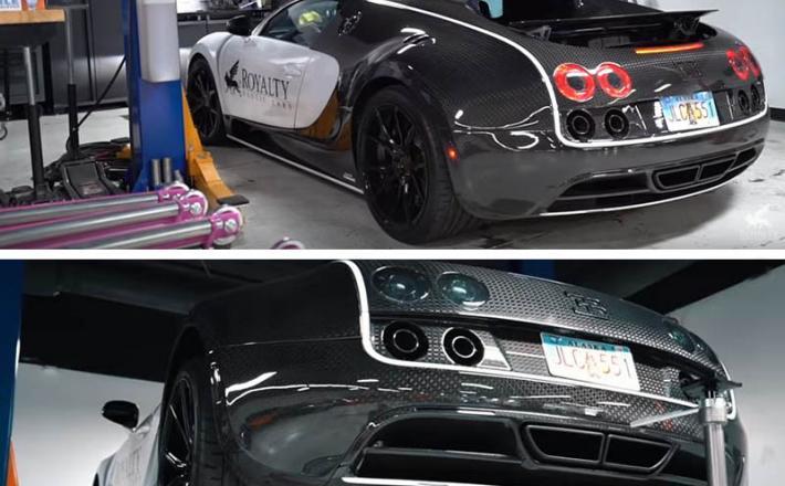 Bugatti Veryon, servis