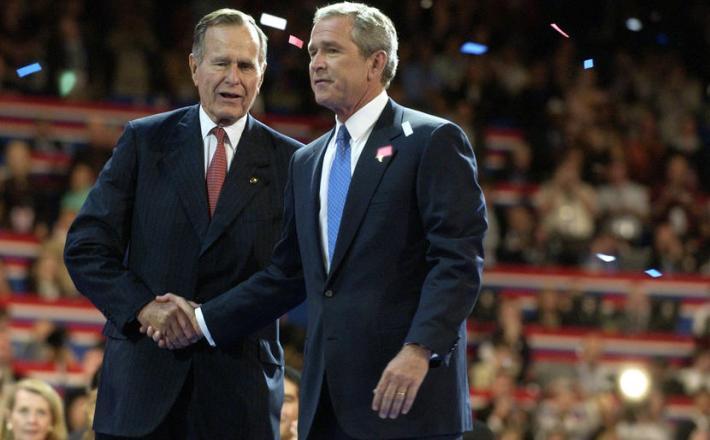 Bush starejši in Bush mlajši