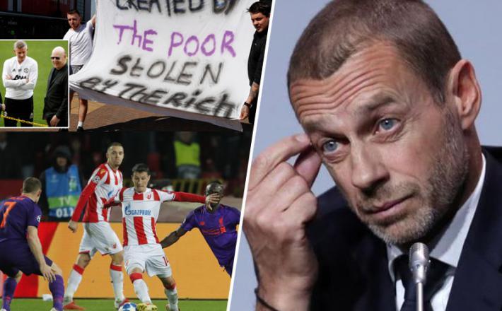 Aleksander Čeferin se bori za dušo evropskega nogometa