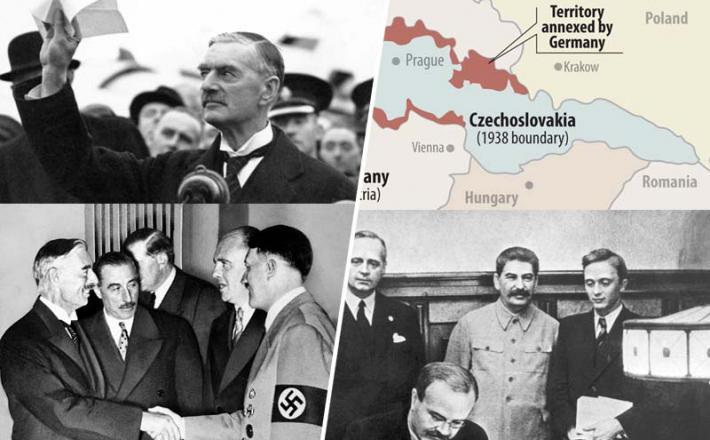 Velika Britanija in Francija sta s Hitlerjem paktirali veliko pred Stalinom