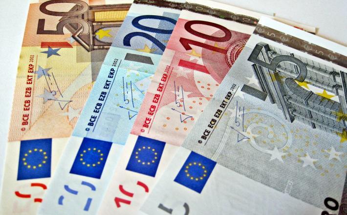 Denar evro - proračuna