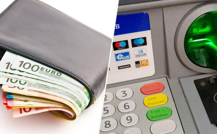Denar bankomat