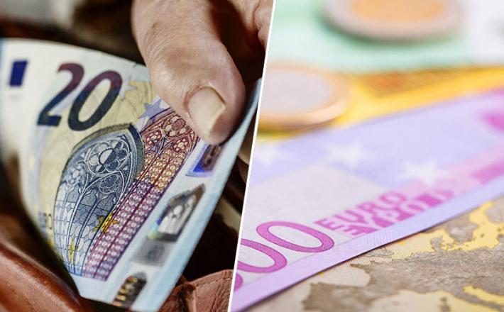 Denar, euro