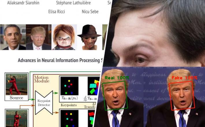 Deepfakes - z eno sliko