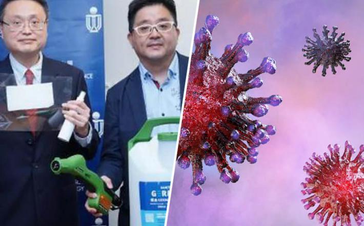 Novo dezinfekcijsko sredstvo proti koronavirusu