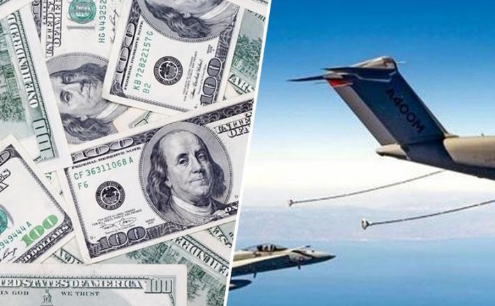 Dolarji - oskrba z gorivom v zraku
