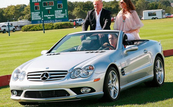 Mercedes in Trumpova     Vir:Mercedesblog