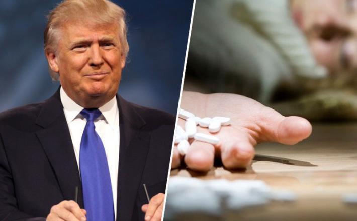 Donald Trump, droge