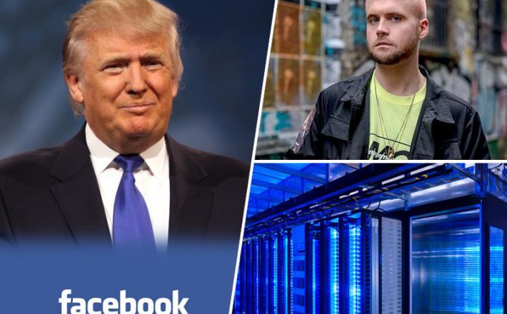 Donald Trump in Facebook