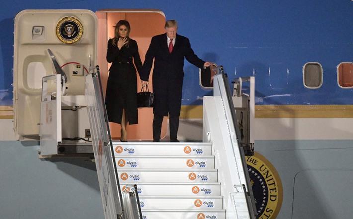 Donald Trump, Francija