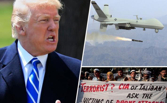 Donald Trump / Predator dron