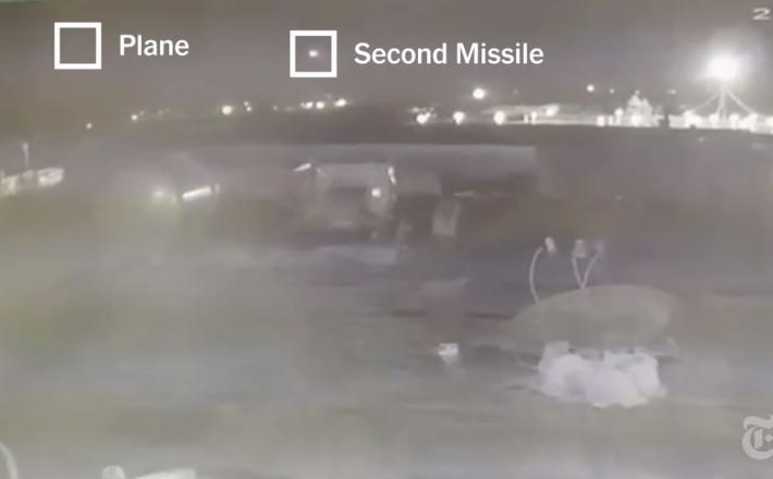 Dve raketi, ki sta zadeli ukrajinski Boeing 737 nad Teheranom