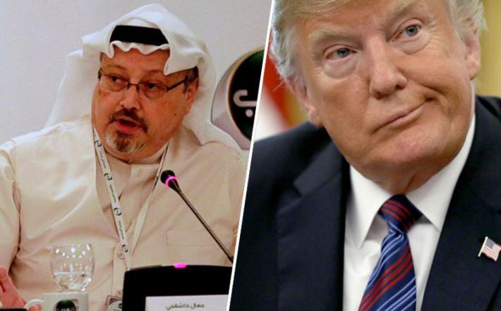 Džamal Hašodži in Donald Trump
