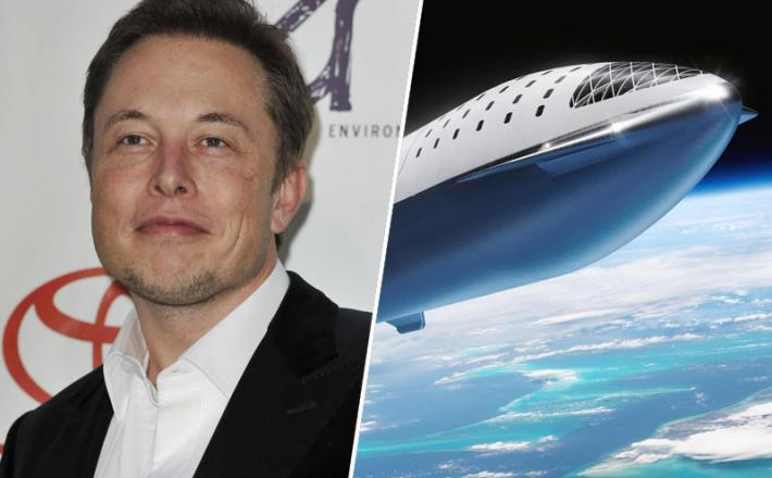 Elon Musk, vesolje