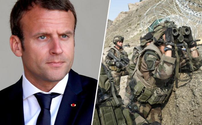Emmanuel Macron / vojska