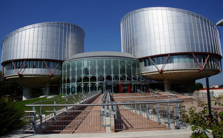 Evropsko sodišče za človekove pravice. Vir: Twitter