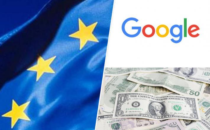 EU - Google, dolar