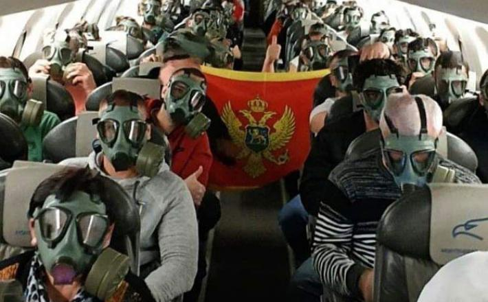 Evakuacija državljanov Črne gore