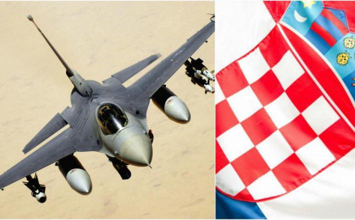 F-16 Hrvaška