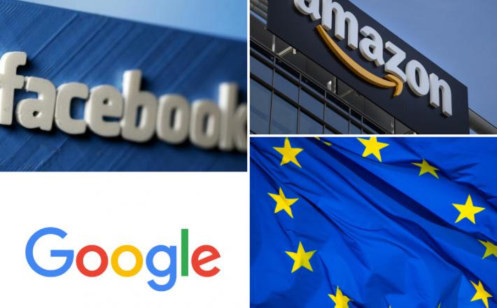 FB, Google, Amazon, EU davek