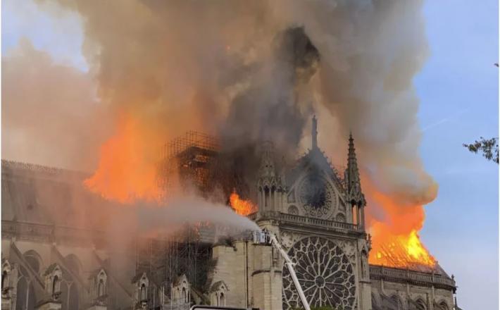 Požar, Notre Dame