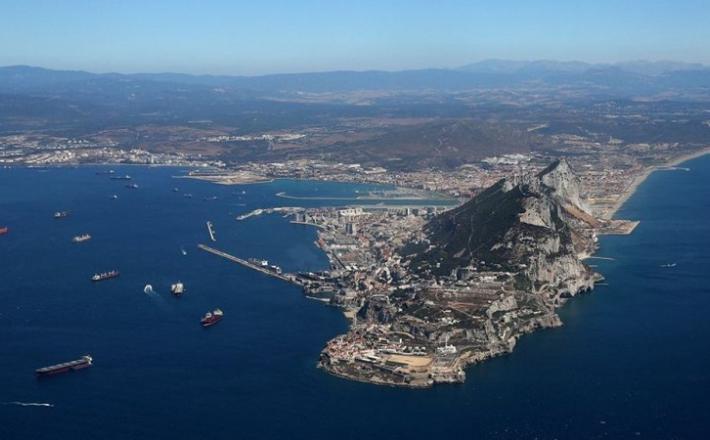 Gibraltar iz zraka  Vir:Twitter