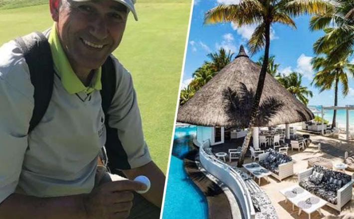 Janša rad igra golf - v davčnih oazah...