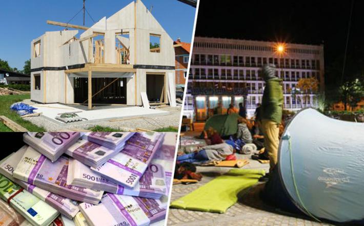 Gradnja hiš in stanovanj