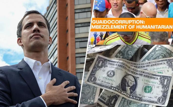 Guaido - korupcija
