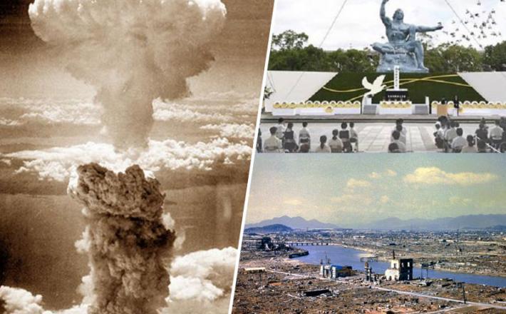 Obletnica napada na Hirošimo in Nagasaki