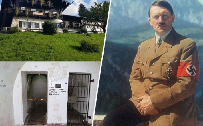 Hitler in njegov hotel