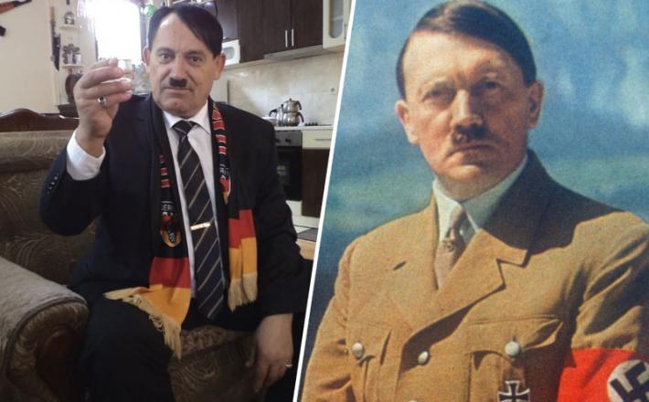 Gjinovci - Hitler